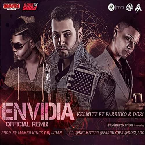 eloy ft zion & kendo envidia official remix