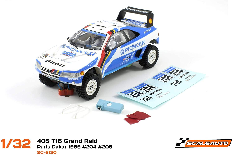 suministramos lo mejor Scaleauto SC-6120 Peugeot 405 405 405 T16 Grand Raid Winner Paris Dakar 1989 Africa Legends Collection n. 204 & n.206  garantía de crédito