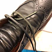 Lace Lacing Leather Topgrain Black 12 Feet 2 Pieces