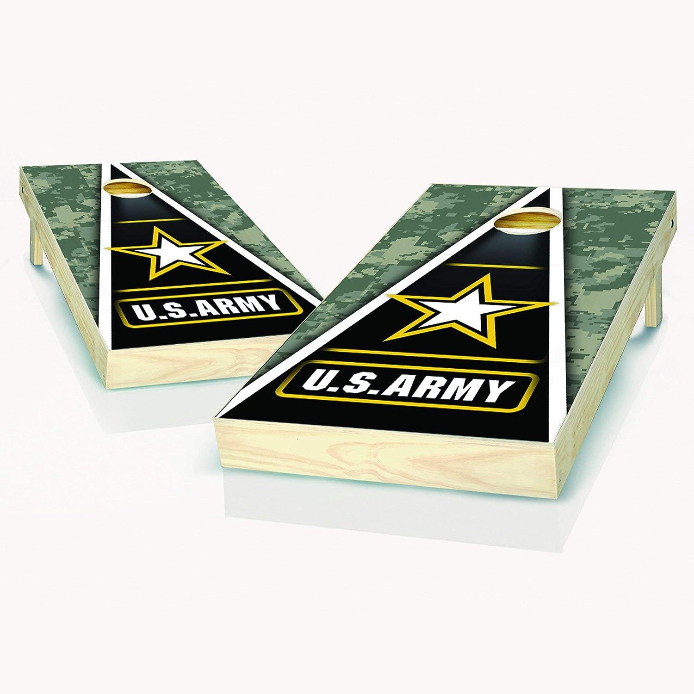 US Army Cornhole Boards 2x4 Regulation Cheap SALE Start Size - Includes Super-cheap 2 Bo
