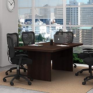 Mesa Para Escritório De Reunião Me4119 Tecno Mobili - Tabaco