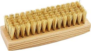 [サフィール] 豚毛100% 靴クリームの浸透を促し美しいツヤを引き出す豚毛ブラシ ポリッシャーブリストルブラシ 12㎝ 天然 メンズ