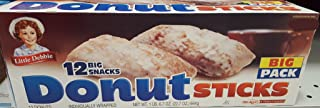 Little Debbie Big Packs 2 Boxes of Snack Cakes & Pastries (Donut Sticks)