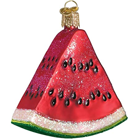 Old World Christmas Ornaments Fruit Selection Glass Blown Ornaments For Christmas Tree Watermelon Home Kitchen