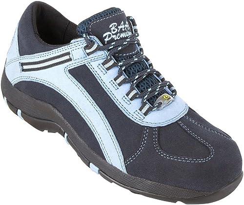 BAAK Femme Chaussures de sécurité sina 3215Woman 3215Woman 3215Woman Premium S1ESD Chaussures basses bgr191Bleu, 42 EU, bleu 802