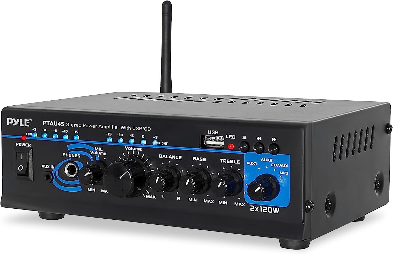 Home Bluetooth Audio Power Amplifier 2X120 Cha Portable - Watt Max 44% OFF Weekly update 2