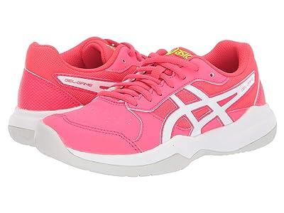 ASICS Kids Gel-Game 7 (Little Kid/Big Kid) (Laser Pink/White) Girls Shoes