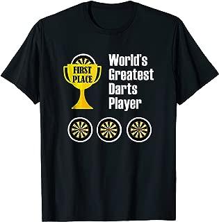 World's Greatest Darts Player Trophy - Darts T-Shirt