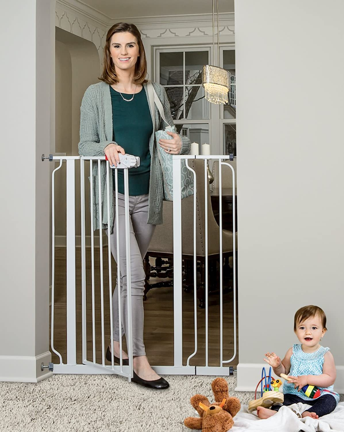 Regalo Baby Easy Step Extra Tall Safety Gate, 1Pack