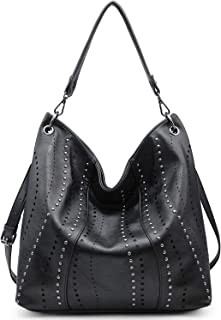 VONMAY Hobo Bags for Women Purses and Handbags Ladies Large Shoulder Bags with Studs