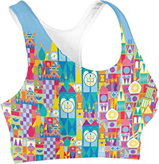 Rainbow Rules Its A Small World Disney Parks Inspired Sports Bra