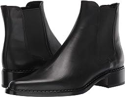 Black Almeria Leather