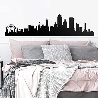 Vinyl Wall Art Decal - San Francisco Skyline - 18.5