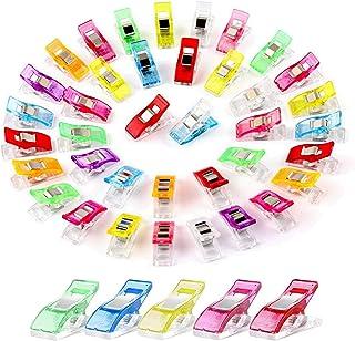 Clip De Matelassage Clip De Reliure D'artisanat Clip De Mercerie De Couleur Clip Patchwork Accessoires Couture Multicolore...