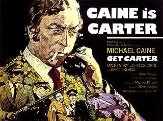Posterazzi Get Carter Movie Masterprint Poster Print, (14 x 11)