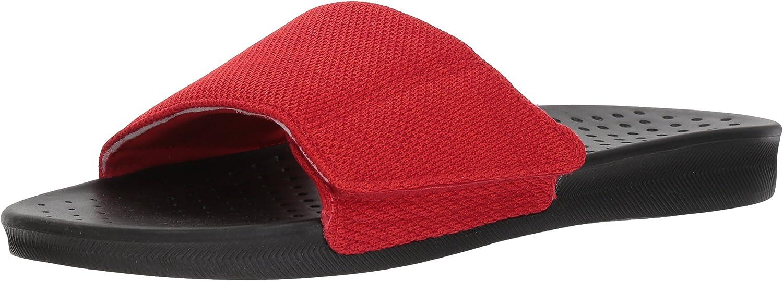 ALDO Men's KAENAWIEL Slide Sandal, red, 9 D US