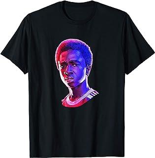 Stranger Things Lucas Rose Tone Portrait T-Shirt