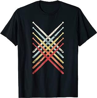 Retro Vintage Drummer T-Shirt