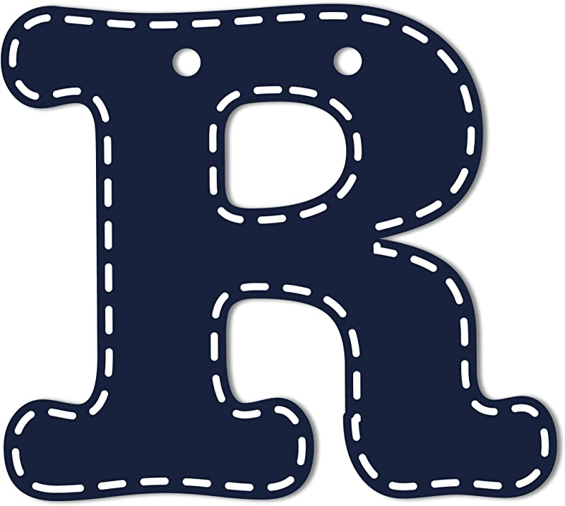 CoCaLo Mix Match Navy Hanging Letters R