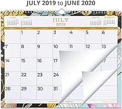 2019-2020 Academic Wall Calendar or Desk Calendar: Juniper Paper Design Calendars for July 2019 to June 2020 Year - 15x12 Monthly Calendar - Wirebound Family Calendar for Desktop or Hanging