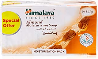 Himalaya Herbals Cucumber and Coconut Soap, 125g (Pack of 6)