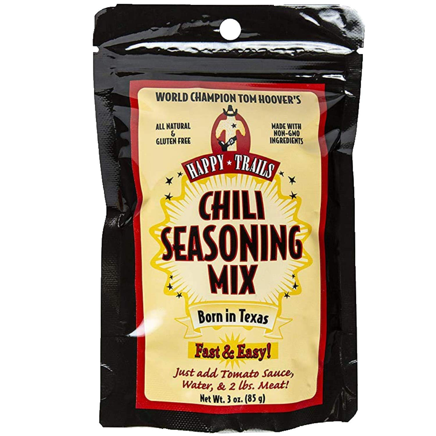 Happy Trails Chili Seasoning 2021new shipping free shipping Pac Mix - 67% OFF of fixed price Texas