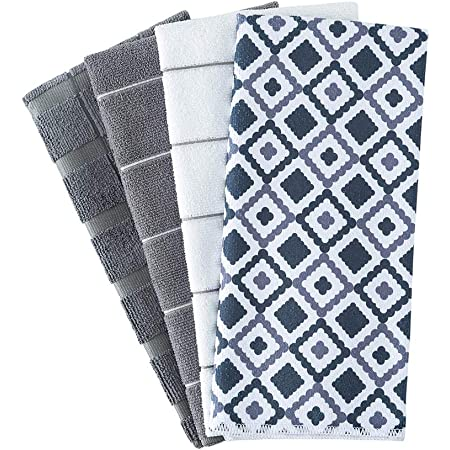 13 x 22-yHJ Details about  /Lushomes Super Absorbent and Soft Black Kitchen Towels