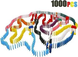 comprar comparacion Lewo 1000 Piezas de Madera dominó Set Classic Bloques de construcción Juegos de Carreras