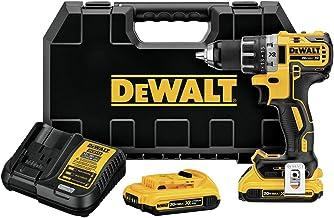 DEWALT DCD791D2R 20V MAX XR Li-Ion Brushless Compact Drill / Driver Kit (Renewed)
