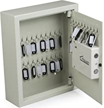 Hausen Wall Mounted 48 Key Electric Combination Lock Cabinet Safe