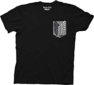 Ripple Junction Attack on Titan Survey Corps Adult T-Shirt