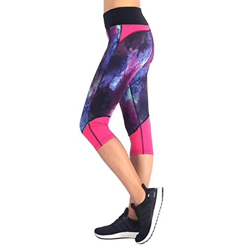 6b2805f8a6 Sugar Pocket Womens Outdoor Capris Fitness Tights Leggings Walking Running  Yoga Pants