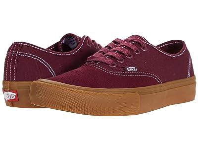 Vans Authentic Pro (Port/Gum) Skate Shoes
