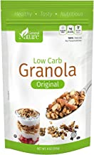 Low Carb Granola Cereal, Gluten Free, Sugar Free, 4g Net Carbs, No Sugar Added, Non-GMO, No Artificial Sweeteners, %100 Natural, No Preservatives, Kosher 9 oz