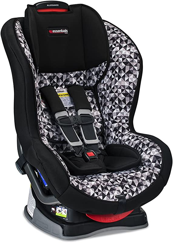 Britax Allegiance Convertible Car Seat 5 To 65 Pounds Rear Forward Facing 1 Layer Impact Protection Prism