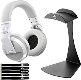 $163 » Pioneer DJ HDJ-X5BT White Wireless Bluetooth DJ Studio Headphones w Table Stand