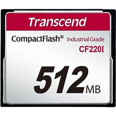 Transcend 業務用/産業用 組込向け CFカード 512MB UDMA5 温度拡張品 SLC NAND採用 高耐久 2年保証 TS512MCF220I