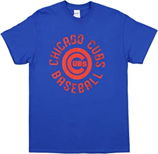 MLB Men's Circle Logo Cotton T-Shirt