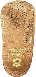 Pedag Holiday 2 Pair 34 Leather Orthotic Thin Semi-Rigid with Metatarsal Pad and Heel Cushion, Tan, US M14 EU 47, 6.3 Ounce