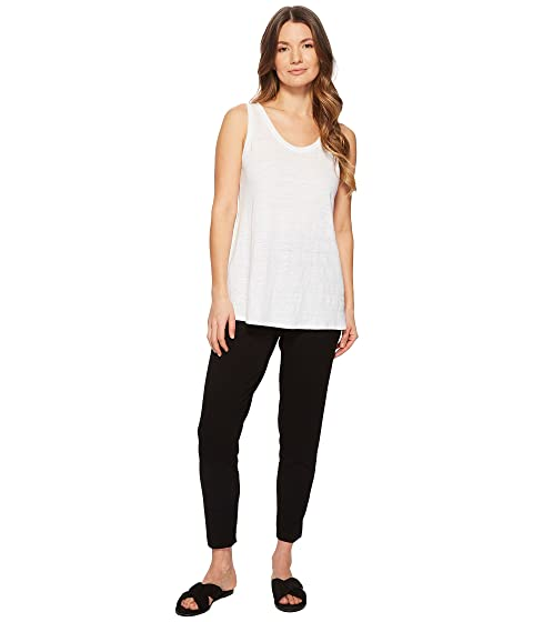 5058e91d1edb Eileen Fisher Slim Ankle Slouchy Pants at Zappos.com