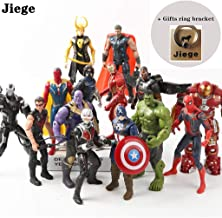 Avengers Justice Alliance - Hero Action Figures - Hero Character Model Set,Hero Doll Ornaments Hand Model Toy Doll - 15 Models