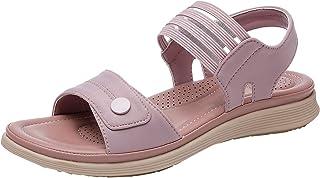 Slingback Peep Toe Damessandalen, slip-on comfortabele strandsandalen, zomer, outdoor sandalen