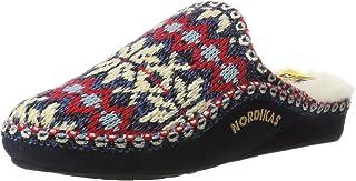 Nordikas Classic, Zapatillas de Estar por casa con talón Abierto Mujer