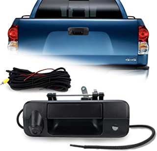 $54 » Tailgate Replace Rear View Camera Compatible with Toyota Tundra 2007-2013 Tailgate Door Handle Rear View Backup Camera 690...