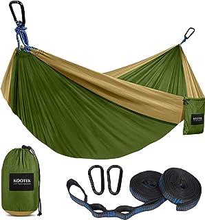 Kootek Camping Hammock Double & Single Portable Hammocks...