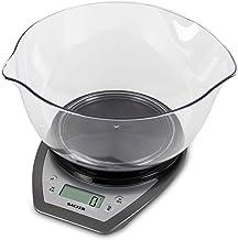 Salter Balance de cuisine électronique avec Bol 2 litres - Pèse les aliments / liquides en grammes, ml, onces, livres - De...