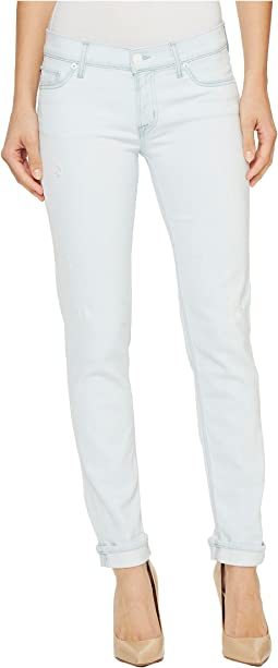 Tally Cropped Skinny Five-Pocket Jeans in Lightweight