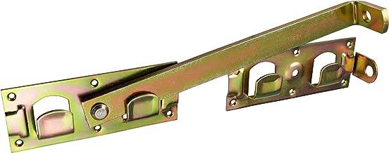 ALPENSTAHL tuinpoortgrendel grote dubbele poortgrendel afsluitbaar staal gegalvaniseerd | metalen poortgrendel bruikbaar a...