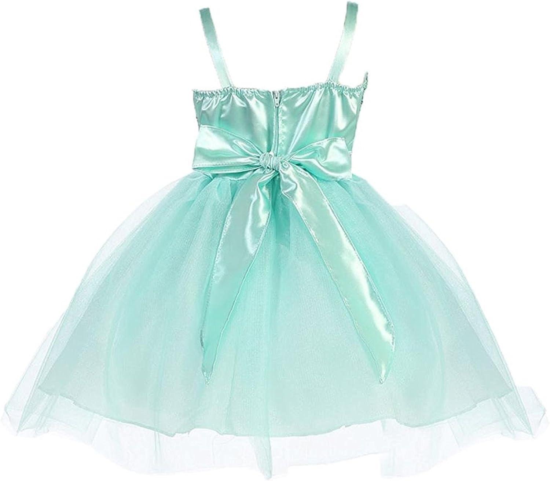 TOGIC Nice Popular Dress Sequince with Sparkle Tulle Skirt Flower Girl Dress for Big Girl
