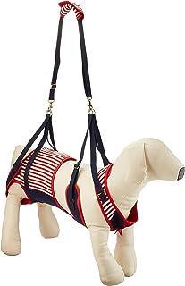 With(ウィズ) 歩行補助ハーネス LaLaWalk 中型犬・コーギー用 セーラーマリン CLサイズ